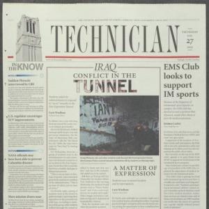 Technician, February 27, 2003