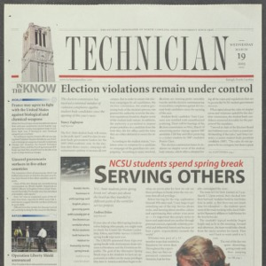 Technician, March 19, 2003