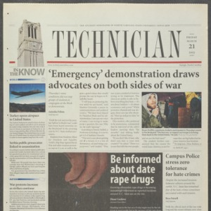 Technician, March 21, 2003