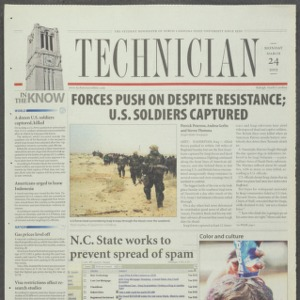 Technician, March 24, 2003