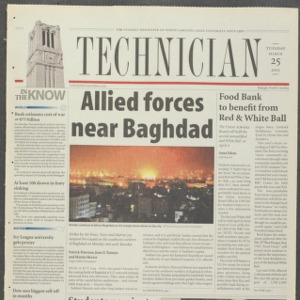 Technician, March 25, 2003