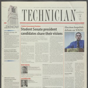 Technician, April 2, 2003