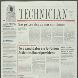 Technician, April 3, 2003