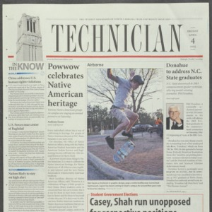 Technician, April 4, 2003