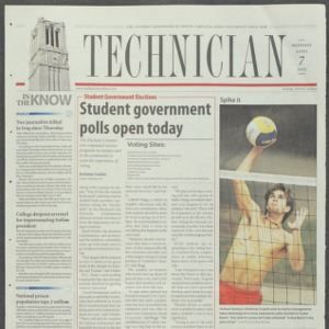 Technician, April 7, 2003
