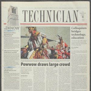 Technician, April 8, 2003