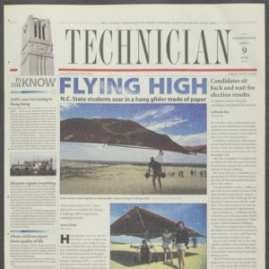 Technician, April 9, 2003