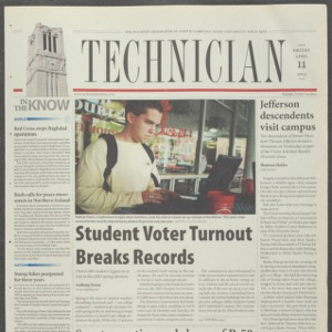Technician, April 11, 2003