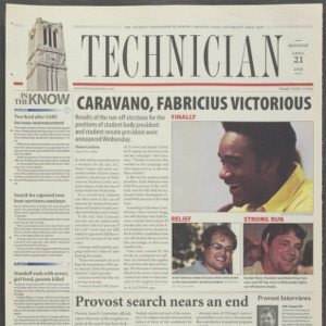 Technician, April 21, 2003