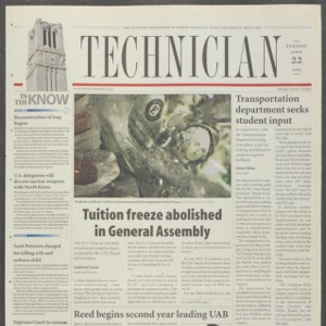 Technician, April 22, 2003