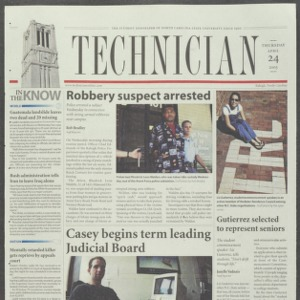 Technician, April 24, 2003