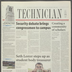 Technician, April 25, 2003