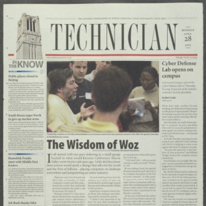 Technician, April 28, 2003