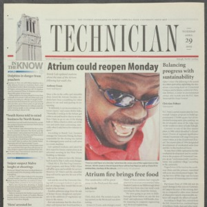 Technician, April 29, 2003