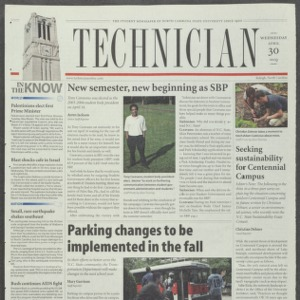 Technician, April 30, 2003