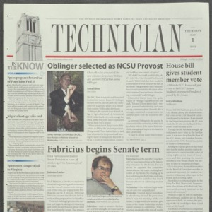 Technician, May 1, 2003