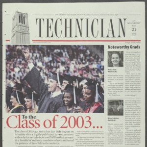 Technician, May 21, 2003