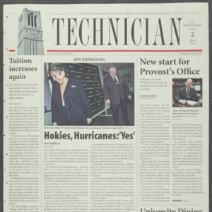 Technician, July 2, 2003