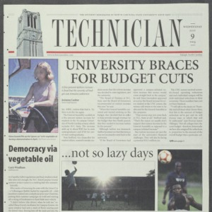 Technician, July 9, 2003