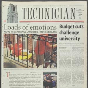 Technician, August 20, 2003