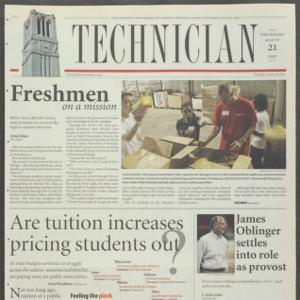 Technician, August 21, 2003