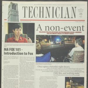 Technician, August 25, 2003