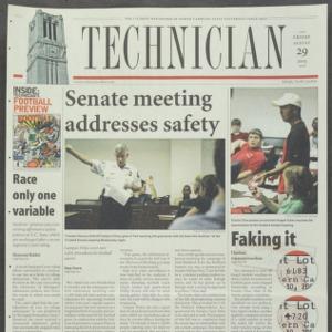 Technician, August 29, 2003