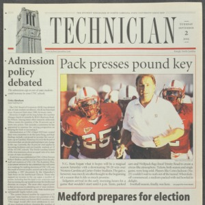 Technician, September 2, 2003