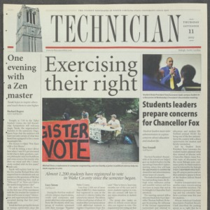 Technician, September 11, 2003