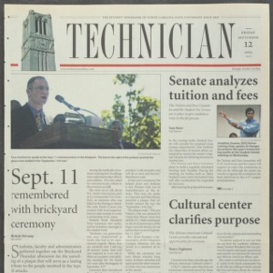 Technician, September 12, 2003