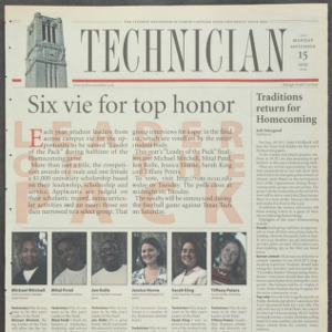 Technician, September 15, 2003