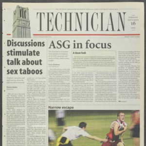 Technician, September 16, 2003