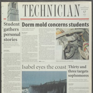 Technician, September 17, 2003