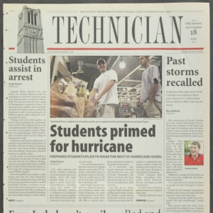 Technician, September 18, 2003
