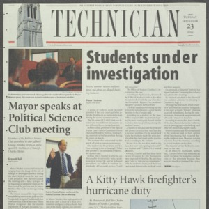 Technician, September 23, 2003