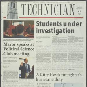 Technician, September 23, 2003