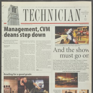 Technician, October 1, 2003