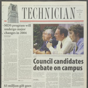 Technician, October 2, 2003