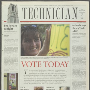 Technician, October 7, 2003