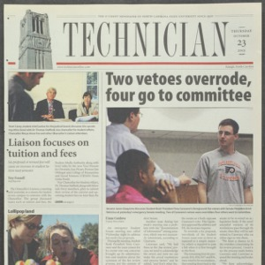 Technician, October 23, 2003