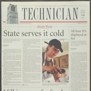 Technician, October 24, 2003
