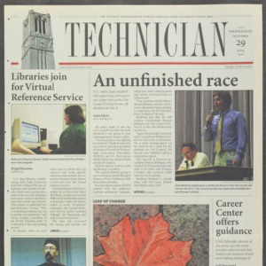 Technician, October 29, 2003