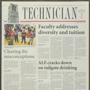 Technician, November 5, 2003