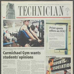 Technician, November 7, 2003