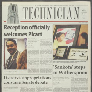 Technician, November 14, 2003