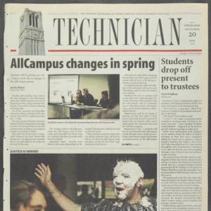 Technician, November 20, 2003