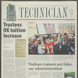 Technician, November 24, 2003