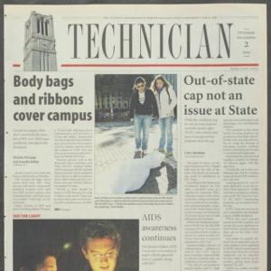 Technician, December 2, 2003