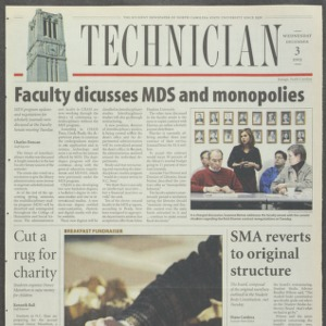 Technician, December 3, 2003