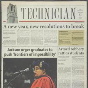 Technician, January 12, 2004